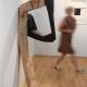 """Besucher . Ausstellung """"corpus"""" . Beate Debus . Städtische galerie ada Meiningen . 2007"""