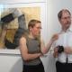 "Ralf-Michael Seele (rechts) . Ausstellung ""corpus"" . Beate Debus . Städtische galerie ada Meiningen . 2007"
