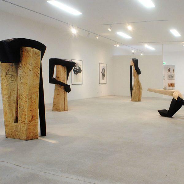 <i>Ausstellung</i> corpus II <i>Kleinsassen 2008</i>