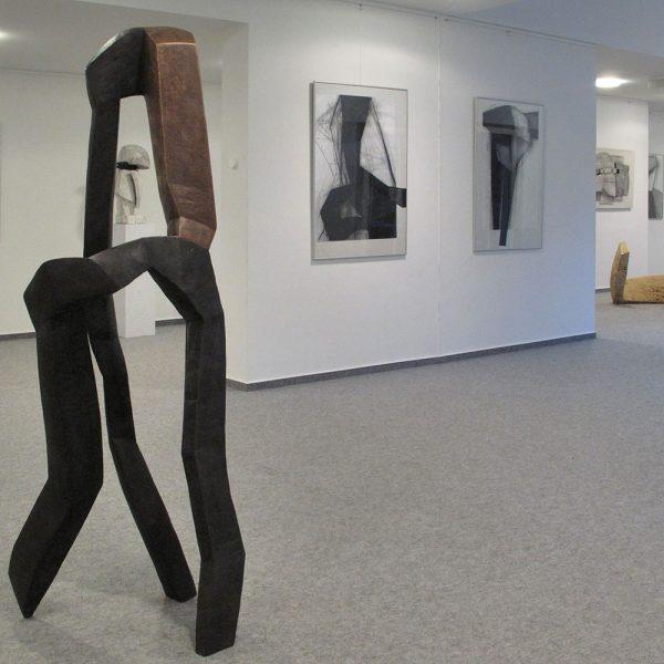 <i>Ausstellung</i> Kopf und Leib bewegt <i>Gersfeld 2010</i>