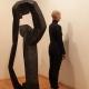 Beate Debus . Tanzperformance Fine Kwiatkowski . Galerie ada Meiningen 2016
