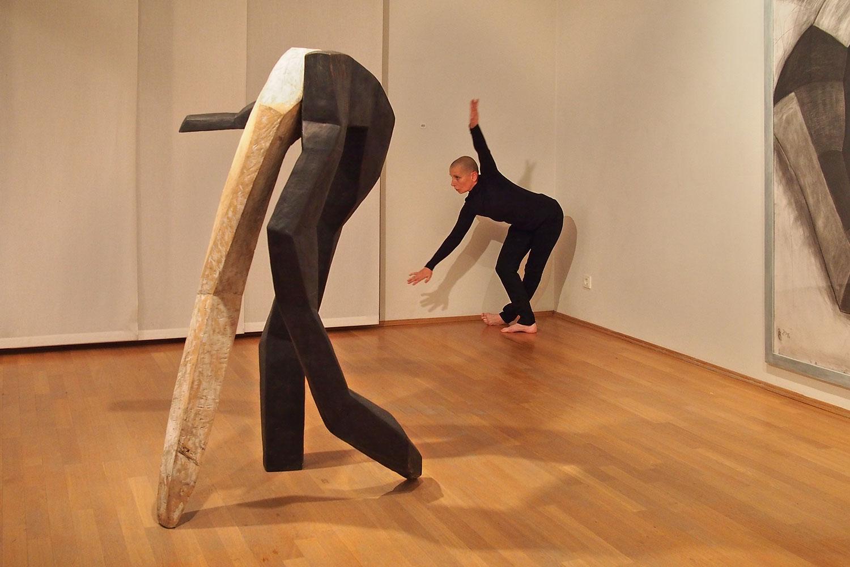 """Ausstellung """"Licht-Schatten-Tänze"""" . Beate Debus . Galerie ada Meiningen 2016"""