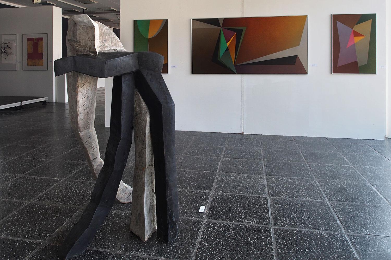"""Gemeinschaftsausstellung """"Mit der Wachheit der Sinne - aus der Tiefe der Stille"""" . Kunstpavillon Eisenach 2016"""
