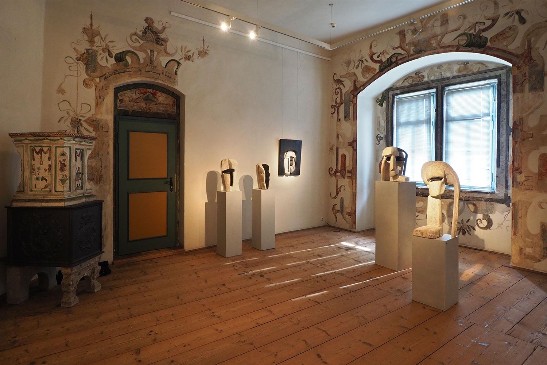 """Ausstellung """"Da-Seins-Formen"""" . Skulpturen & Arbeiten auf Papier . Beate Debus . Schloss Wilhelmsburg Schmalkalden . 2019/20"""