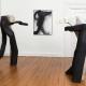 """Ausstellung """"Gehölz die Zweite"""" . 6 Bildhauer*innen . Beate Debus Holzskulpturen . Syker Vorwerk 2020 (Foto: Tobias Hübel)"""