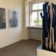 "Ausstellung ""Nivard 1"" . Malerei Skulpturen Installationen . Holzskulptur & Grafik Beate Debus . Maria Bildhausen 2020"