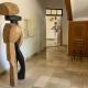 "Ausstellung ""Nivard 1"" . Malerei Skulpturen Installationen . Bronzeskulptur ""Balance"" Beate Debus . Maria Bildhausen 2020"