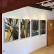 """Ausstellung """"Rhythmen der Form"""" . Beate Debus - Landschaftsstrukturen . Galerie im Bürgerhaus Zella-Mehlis 2020"""