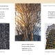 """Flyer zur Ausstellung """"Rhythmen der Form"""" . Beate Debus - Landschaftsstrukturen . Galerie im Bürgerhaus Zella-Mehlis 2020 (Gestaltung: Dietrich Ziebart)"""