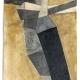 Aufsteigend . Holzbeize, Kohle, Grafit Zeichnung . Beate Debus . 2008