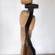 Balance . Holzskulptur . Beate Debus