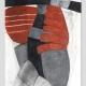 Corpus 2 . Kreide Rötel Zeichnung . Beate Debus . 2012