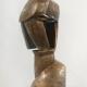 Kopf geöffnet . Bronzeskulptur . Beate Debus . 2010