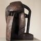 Kopf mit Einblick . Bronzeskulptur . Beate Debus . 2012