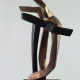 Kreuzspiel (Passion) . Bronzeskulptur . Beate Debus . 2016