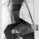 Raumtasten . Kohle/Graphitzeichnung, Papiercollage . Beate Debus . 2008