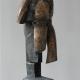 Säulenkopf . Bronzeskulptur . Beate Debus . 2010
